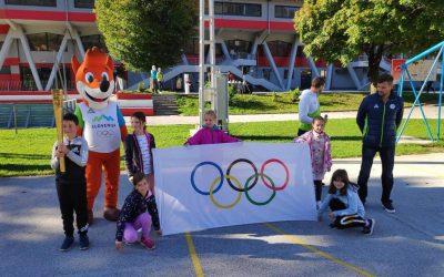 Mini cicibanova olimpijada za učence prve triade jeseniških osnovnih šol